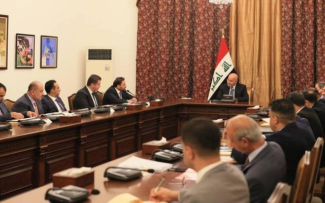 جانب من مشاركة النائب الأول لرئيس مجلس النواب بالاجتماع الموسع لمناقشة مشروع قانون استرداد عائدات الفساد