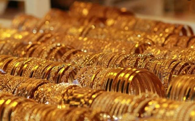 The price of 21-karat gold registered EGP 825 per gram