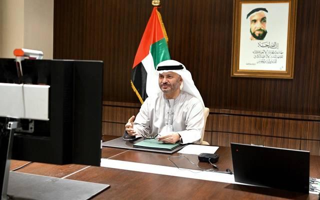 أنور محمد قرقاش وزير الدولة الإماراتي للشؤون الخارجية