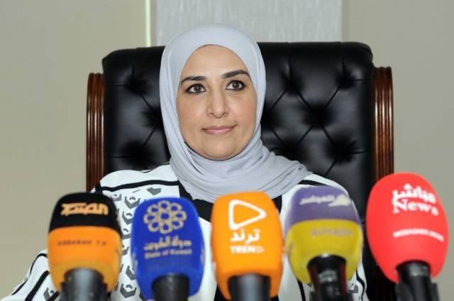 وزیرة الشؤون الاجتماعیة مریم العقیل