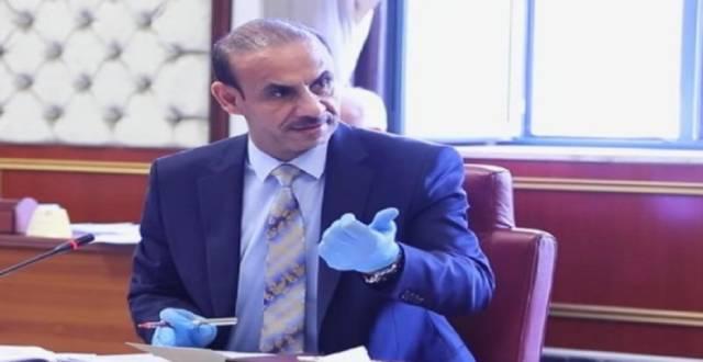عادل الركابي وزير العمل والشؤون الاجتماعية في العراق