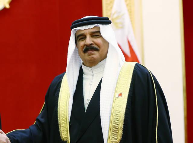 صورة أرشيفية لملك البحرين