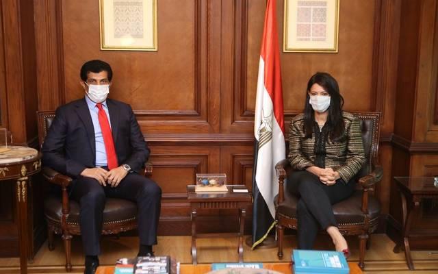 وزيرة التعاون الدولي تلتقي السفير القطري الجديد بالقاهرة