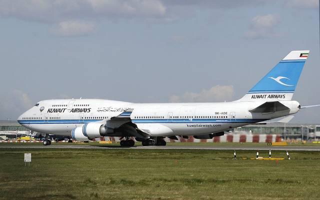 """إحدى الطائرة التابعة لـ""""الخطوط الكويتية"""""""