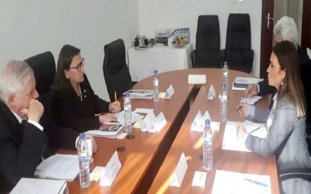 وزيرة الاستثمار والتعاون الدولي بمصر سحر نصر