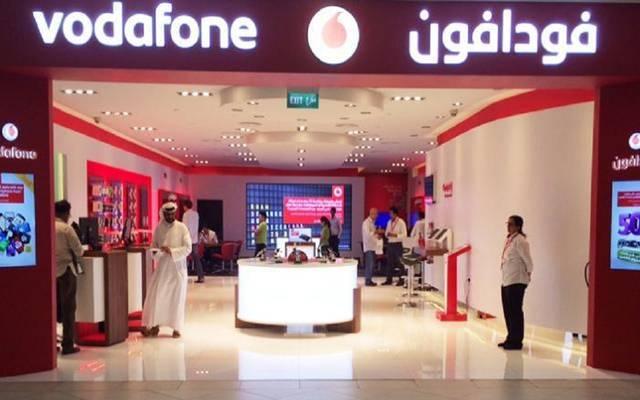 إحدى فروع فودافون في قطر - أرشيفية