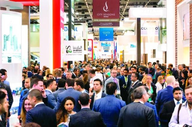 A previous edition of the Arabian Travel Market (ATM)