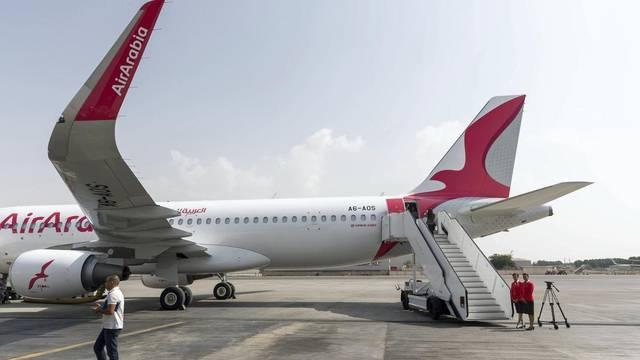 أحد طائرات شركة العربية للطيران