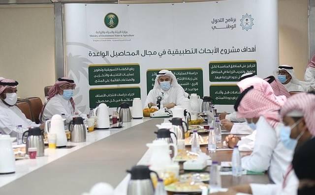 السعودية تطلق المرحلة الأولى من مشروع الأبحاث التطبيقية بالمحاصيل الواعدة