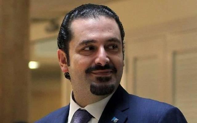 سعد الحريري رئيس وزراء لبنان المستقيل