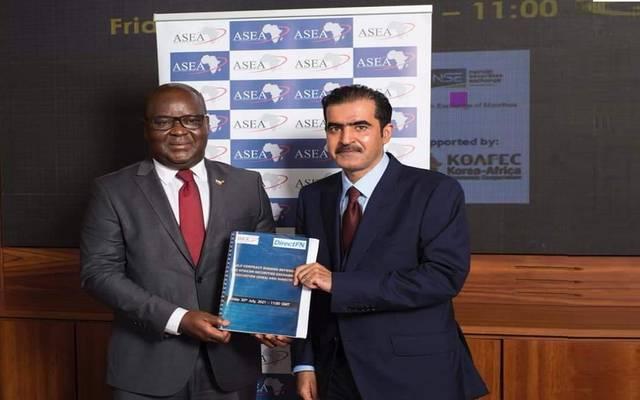 """على هامش توقيع شركة """"دايركت إف إن"""" لتكنولوجيا المعلومات عقداً لربط 7 بورصات أفريقية"""