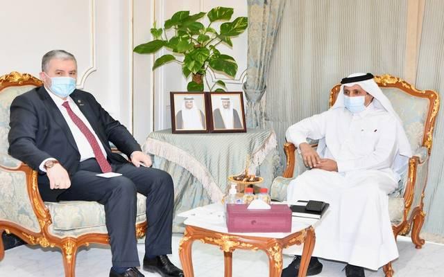 خلال استقبال رئيس غرفة قطر لرئيس جمعية رجال الأعمال والصناعيين المستقلين التركية