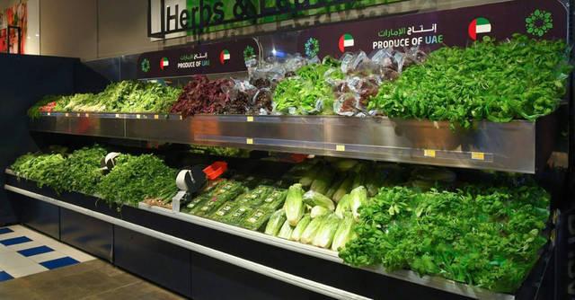 أحد منافذ بيع الأغذية في الإمارات
