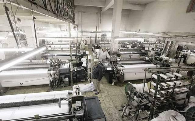 أحد مصانع الغزل والنسيج المصرية