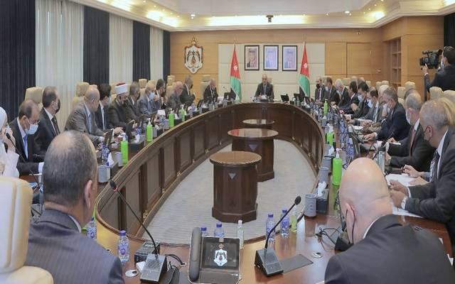 اجتماع مجلس الوزراء الأردني