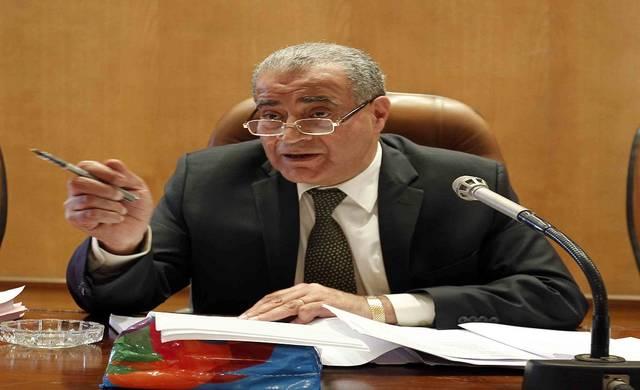 وزير التموين المصري علي المصيلحي