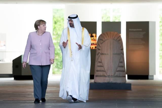 """""""بن زايد"""": مسيرة التعاون بين الإمارات وألمانيا تاريخية وممتدة"""