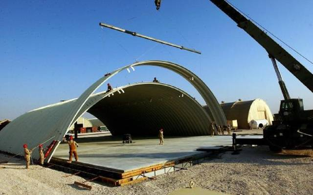 أعمال التوسعة بقاعدة العديد الجوية في إمارة قطر