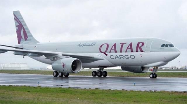 طائرة تابعة لمجموعة الطيران القطري