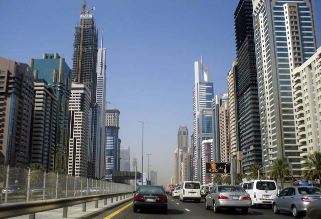 أحد شوارع إمارة دبي، الصورة أرشيفية