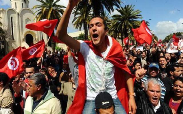 """تعهد حزب المعارضة الرئيسي في تونس اليوم، بتوسيع نطاق الاحتجاجات حتى إسقاط قانون المالية الذي وصفه بـ""""الجائر"""""""