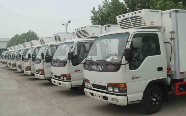 سيارات تبريد مُجهزة ومُعدة للاستخدام
