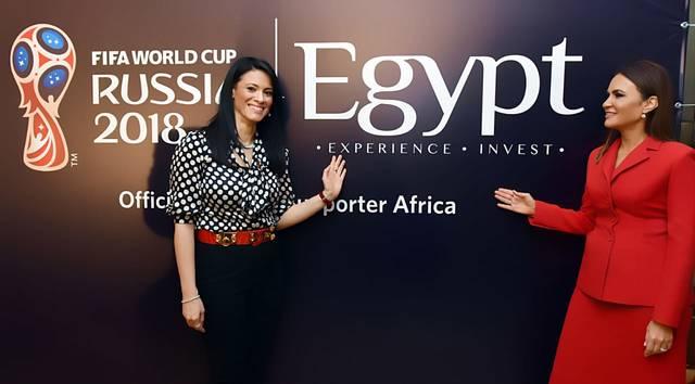 """جانب من توقيع  حملة """"مصر – اكتشف واستثمر"""""""