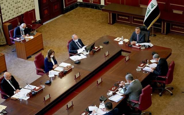 اجتماع الحكومة العراقية برئاسة مصطفى الكاظمي