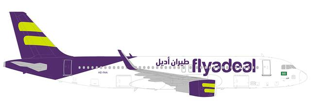 Flyadeal is owned by Saudia