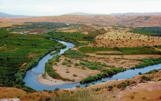 نهر بالعراق - أرشيفية