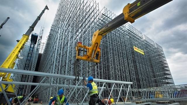 Lift Slab will execute 48% of the project