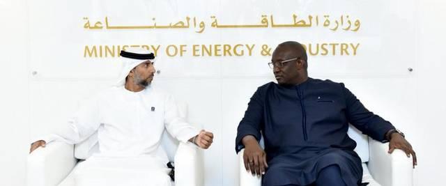 سهيل المزروعي - وزير الطاقة والصناعة الإماراتي، وزير الطاقة السنغالي