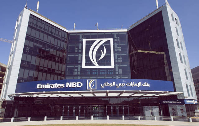 The bank's earnings per share settled at AED 0.34