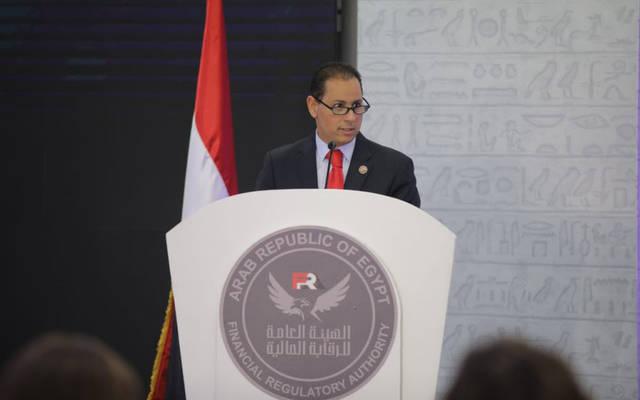محمد عمران رئيس الهيئة العامة للرقابة المالية المصرية