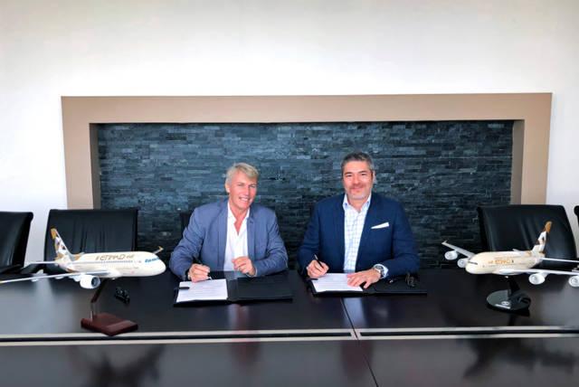 الاتحاد للطيران الهندسية وتارماك إيروسيف تدخلان في شراكة