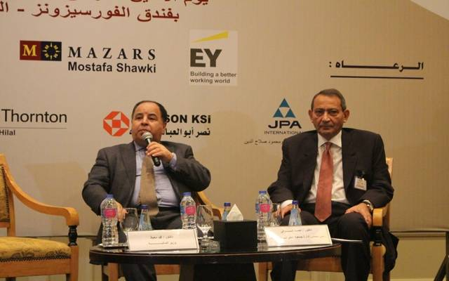 محمد معيط خلال المؤتمر السنوي لجمعية الضرائب المصرية