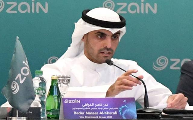 نائب رئيس مجلس الإدارة والرئيس التنفيذي في مجموعة زين بدر ناصر الخرافي