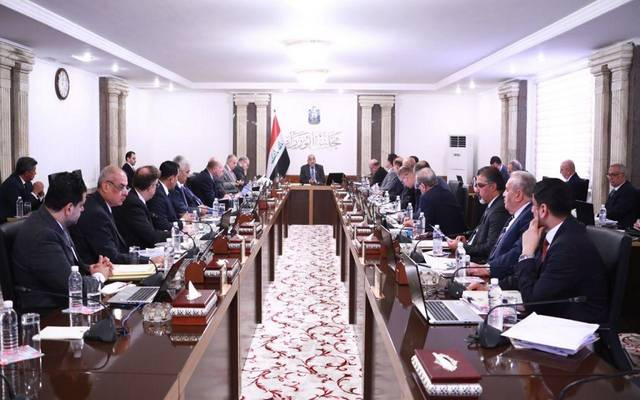 جانب من الاجتماع الأسبوعي لمجلس الوزراء العراقي