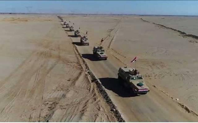 """أعلن المتحدث العسكري أمس عن العملية العسكرية """"سيناء 2018"""""""