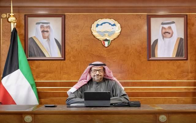 خليفة حمادة وزير المالية ووزير الدولة للشؤون الاقتصادية والاستثمار في الكويت