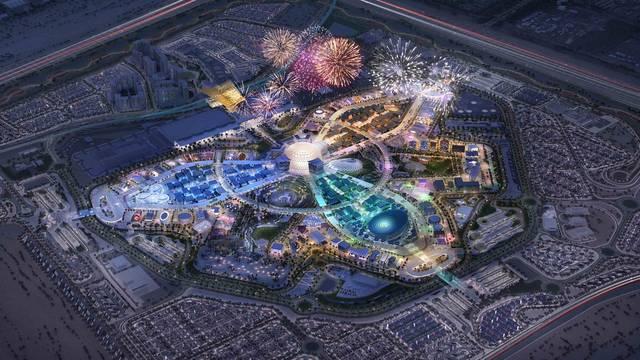 """صور.. 400 يوم تفصلنا عن""""إكسبو دبي 2020"""" وسط اهتمام دولي"""