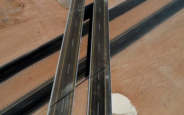 النقل السعودية تفتتح جسر رماح