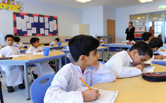 إحدى المدارس في الإمارات