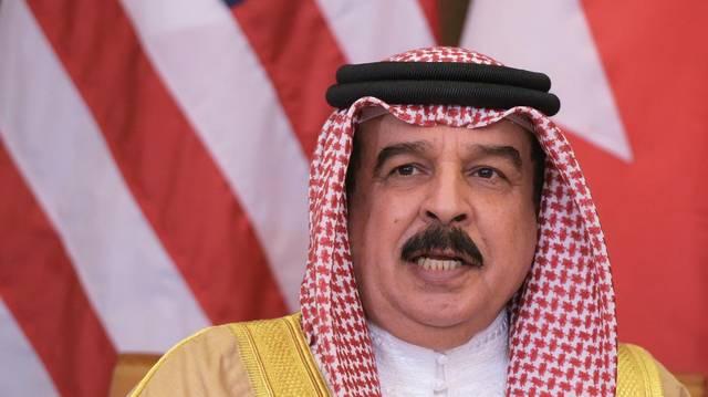 صورة ملك البحرين حمد بن عيسى آل خليفة