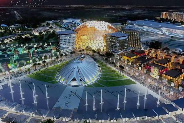 أحد مواقع إكسبو دبي 2020