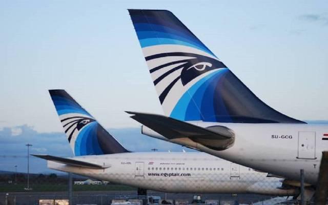 مصر للطيران تسيّر 24 رحلة لعدة وجهات بالخارج لنقل 2400 راكب