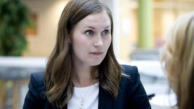 """الفنلندية """"سانا مارين"""" تتجه لتصبح أصغر رئيس وزراء في العالم"""