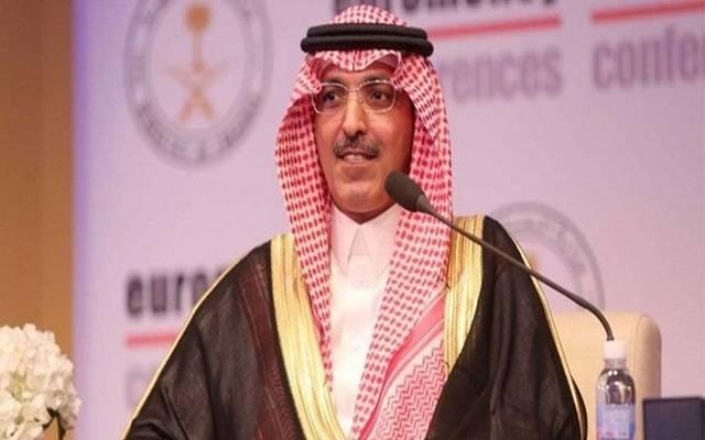 محمد بن عبدالله الجدعان وزير المالية السعودي