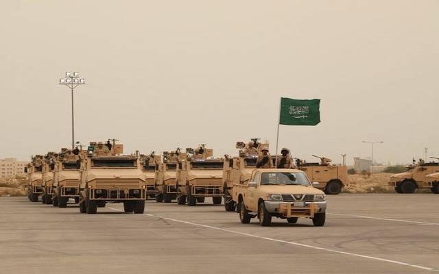 بعض تدريبات الجيش السعودي- الصورة من وزارة الدفاع السعودية