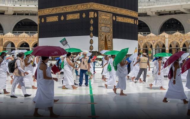 أداء مناسك الحج بالمسجد الحرام وفق التدابير والإجراءات الوقائية والاحترازية خلال العام الماضي